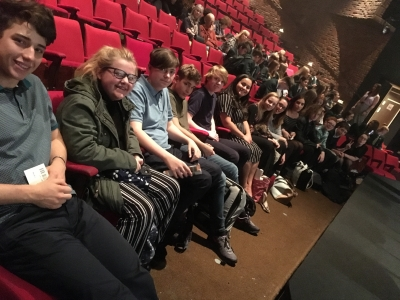 Two Chester schools come together to perform in Manchester Theatre